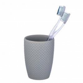 Ποτήρι Οδοντόβουρτσας Wenko Punto Grey 22958100