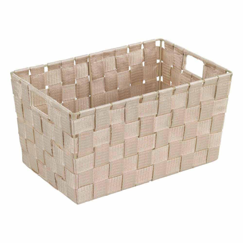 Καλάθι Αποθήκευσης (30x20x15) Wenko Adria Beige 19882100