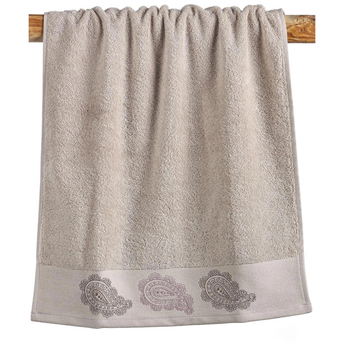 Πετσέτες Μπάνιου (Σετ 3τμχ) Kentia Bath Solemio 12