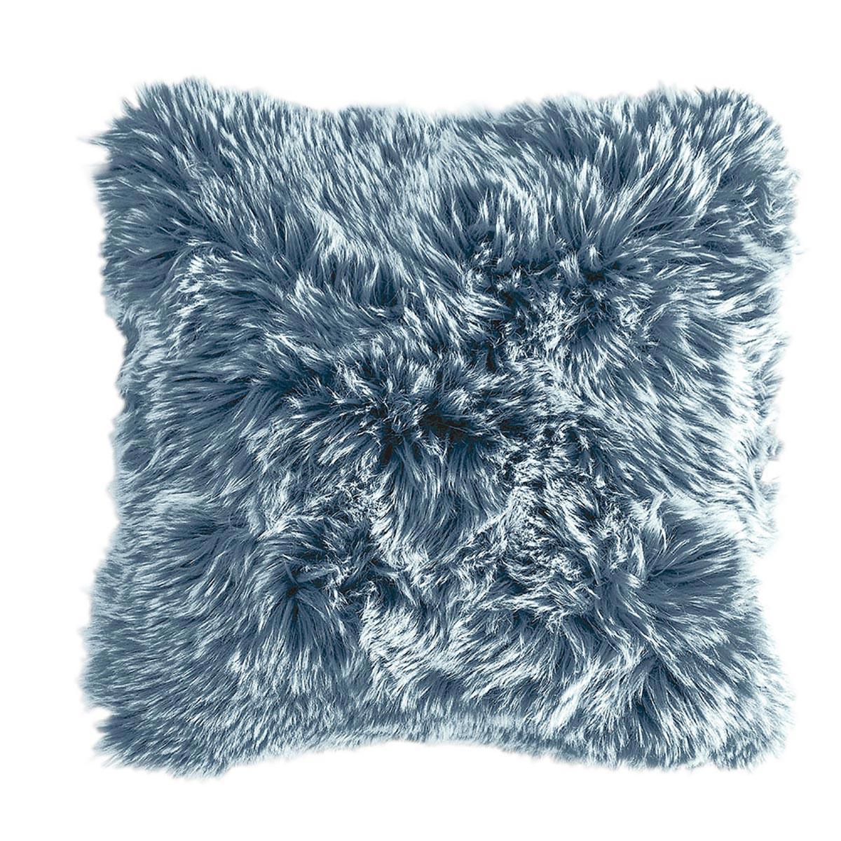 Γούνινη Διακοσμητική Μαξιλαροθήκη (50×50) Kentia Loft Foxy 01