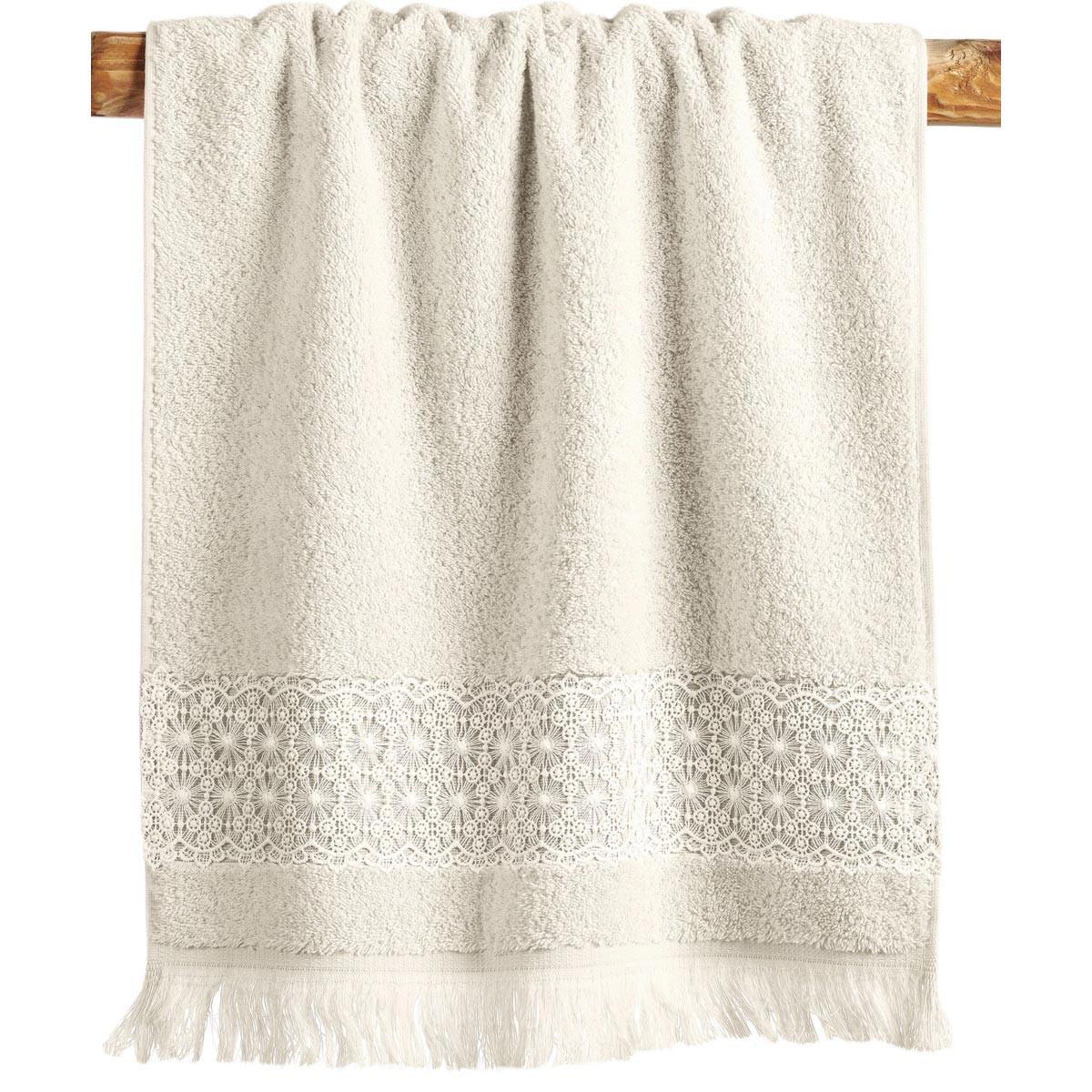Πετσέτες Μπάνιου (Σετ 3τμχ) Kentia Bath Alora 12