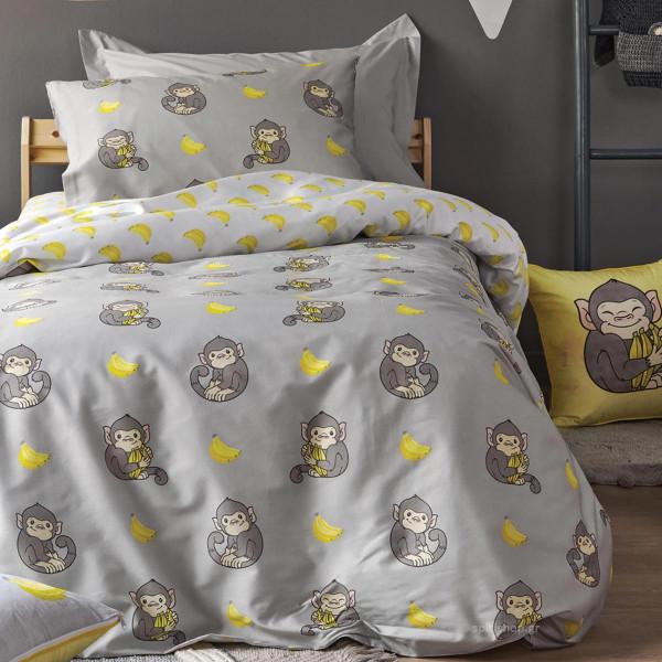 Παπλωματοθήκη Μονή (Σετ) Kentia Kids Banana
