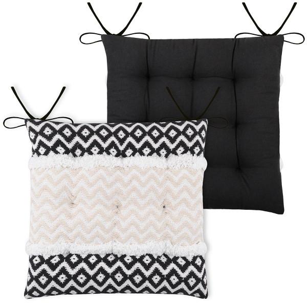 Μαξιλάρι Καρέκλας 2 Όψεων Bangui Ecru CUA263001GAL-4