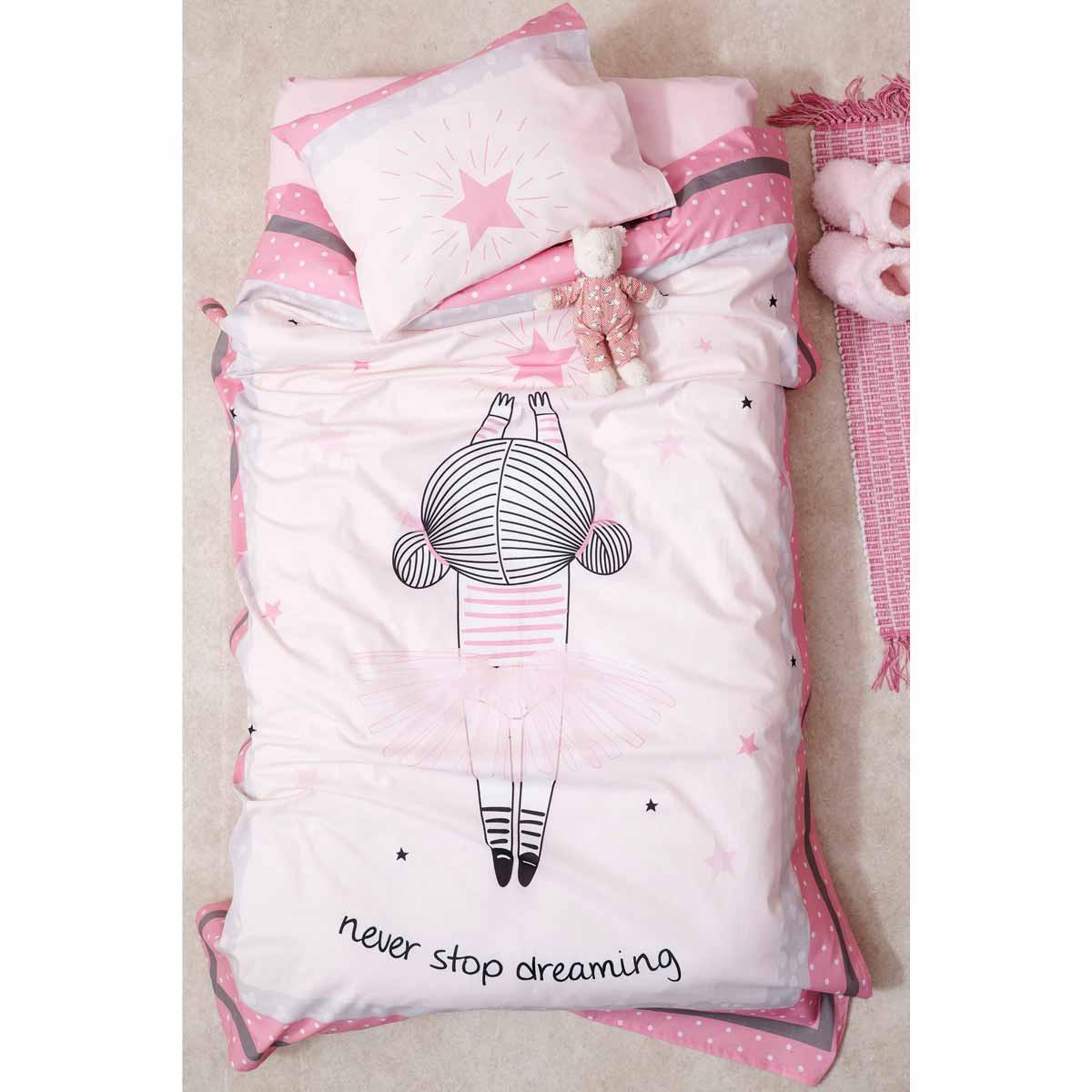 Σεντόνια Κούνιας (Σετ) Palamaiki Happy Baby 0558