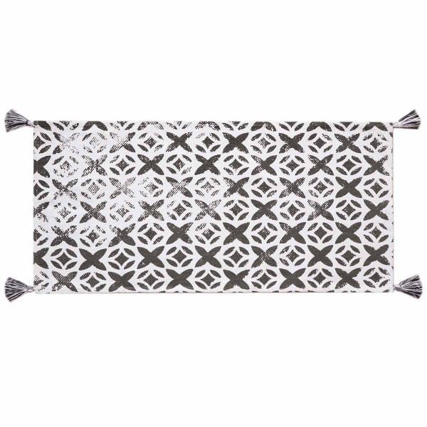Χαλί Διαδρόμου (60x130) Palamaiki Tile Grey