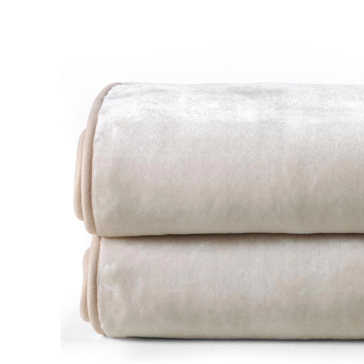 Κουβέρτα Βελουτέ Υπέρδιπλη Kentia Versus Soft 120