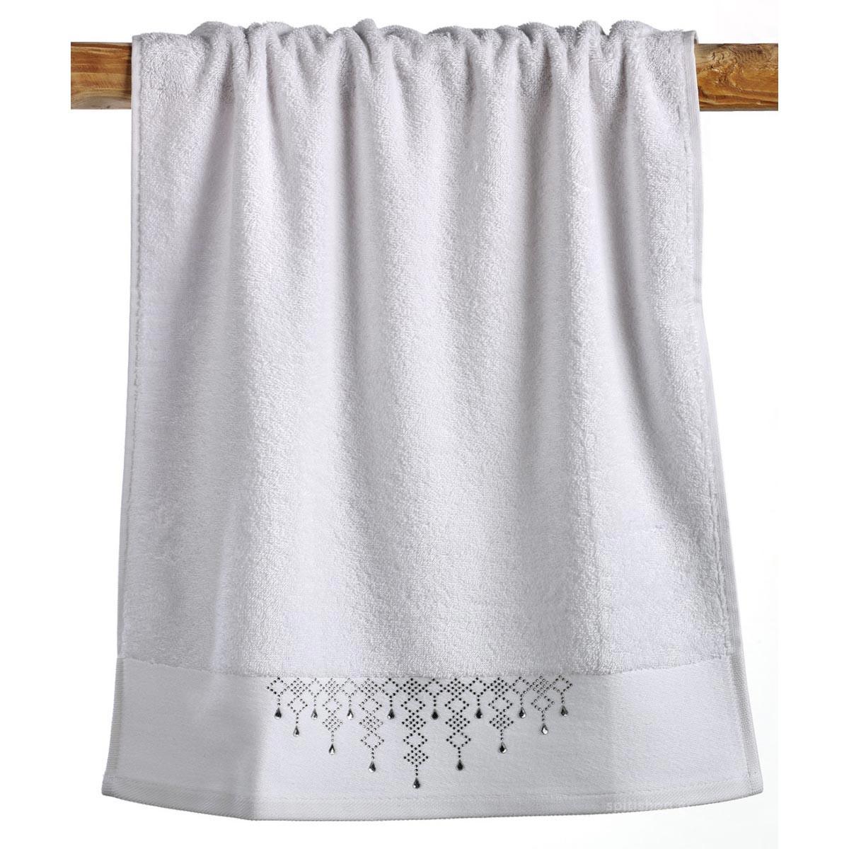 Πετσέτες Μπάνιου (Σετ 3τμχ) Kentia Bath Glitter 00