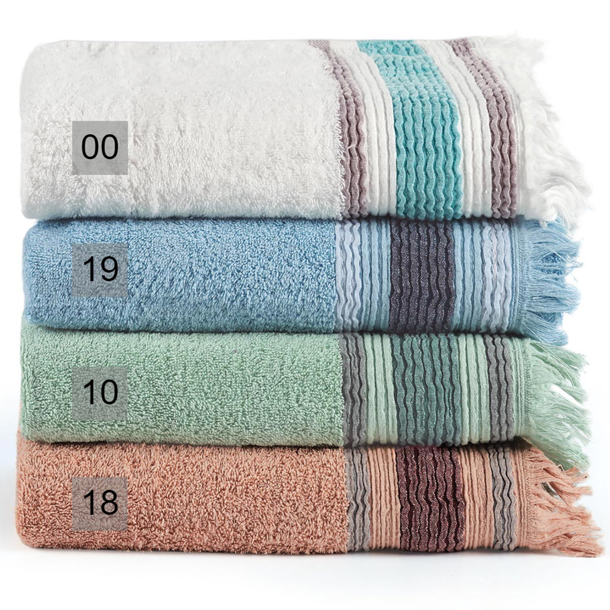 Πετσέτες Μπάνιου (Σετ 2τμχ) Kentia Bath Ava