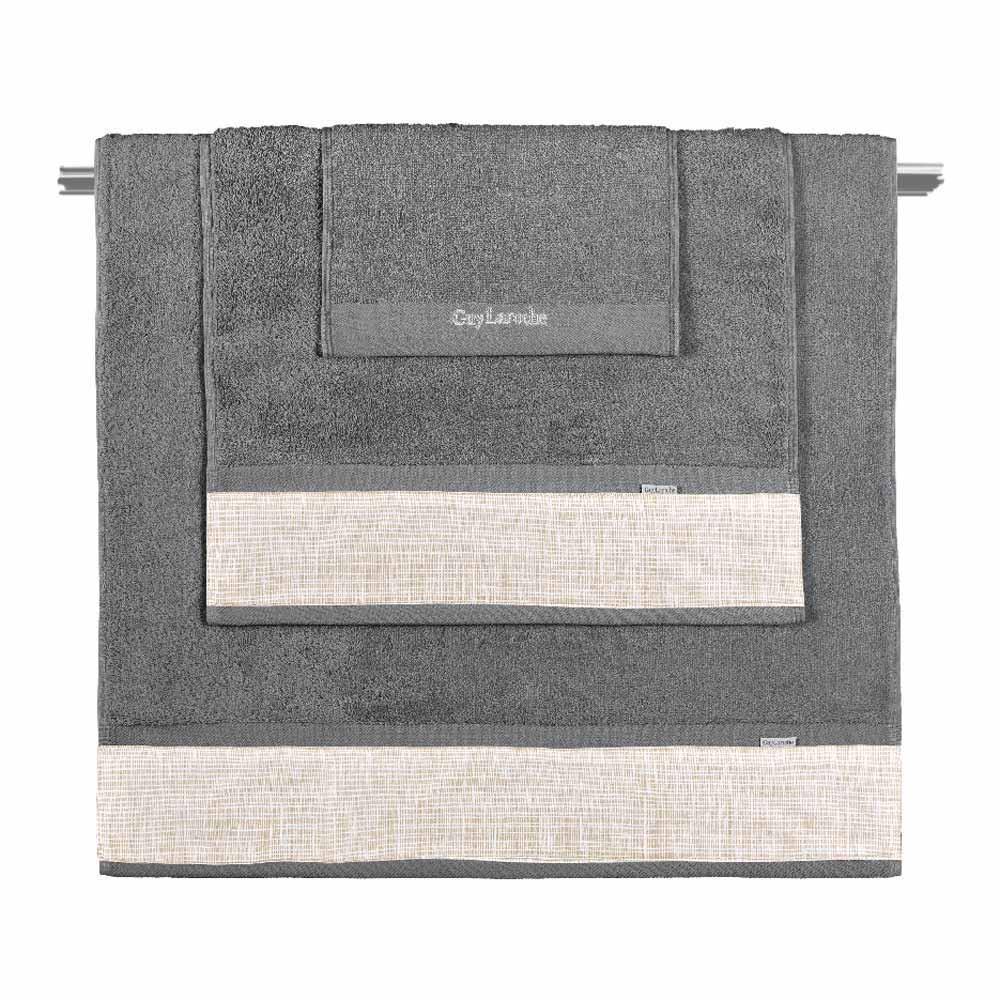 Πετσέτες Μπάνιου (Σετ 3τμχ) Guy Laroche Molly Almond