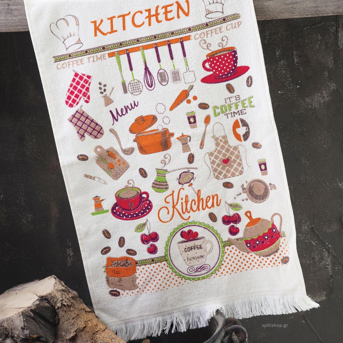 Πετσέτα Κουζίνας Rythmos Menu