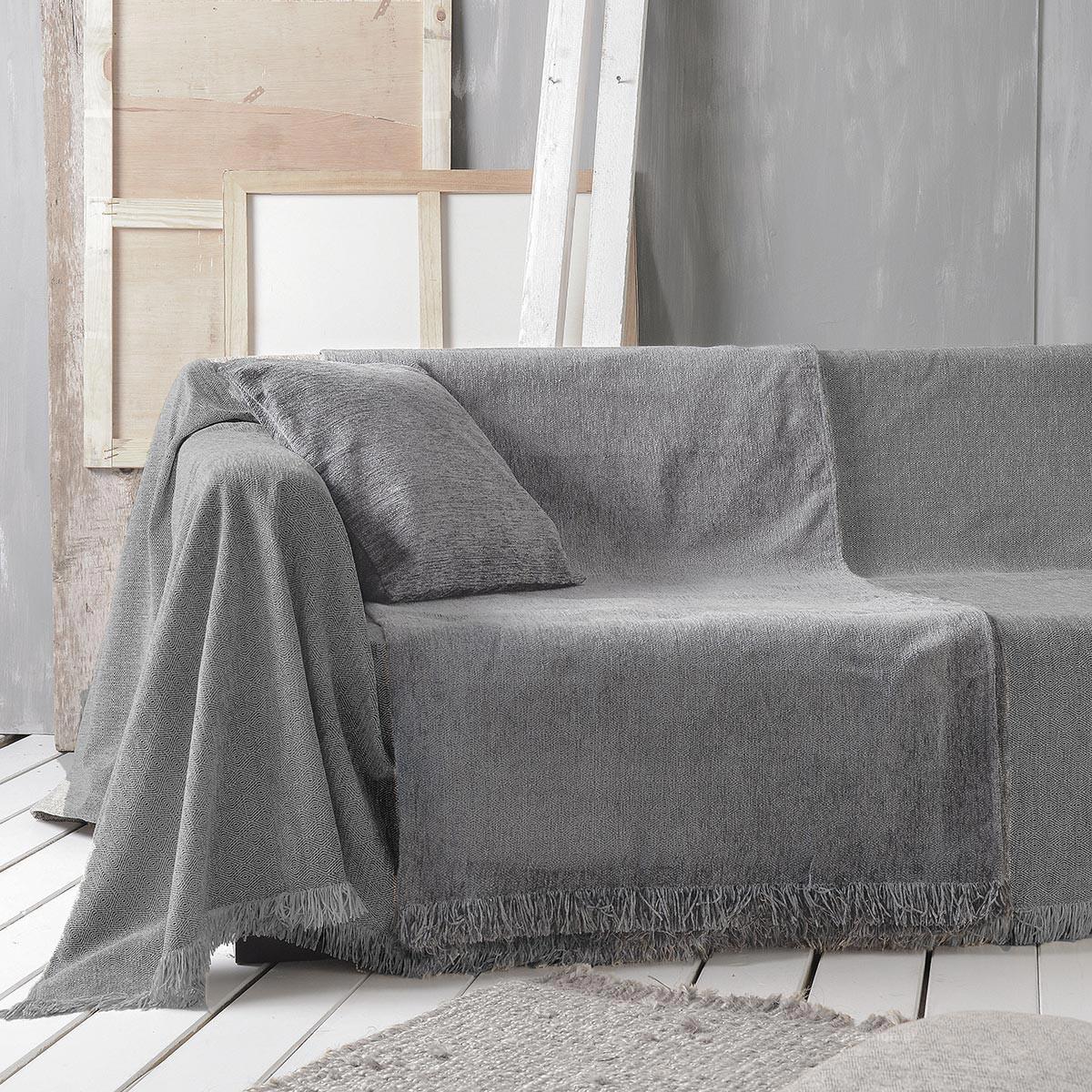 Ριχτάρι Τετραθέσιου (180×330) Rythmos Mandala 06 L.Grey