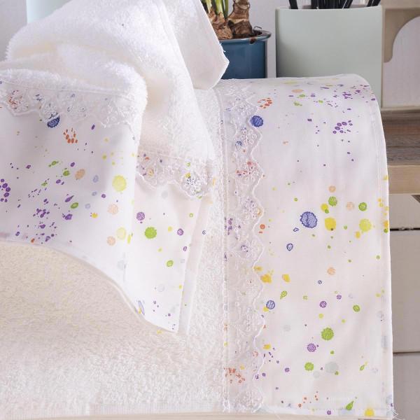 Παιδικές Πετσέτες (Σετ 2τμχ) Rythmos Kids Spots