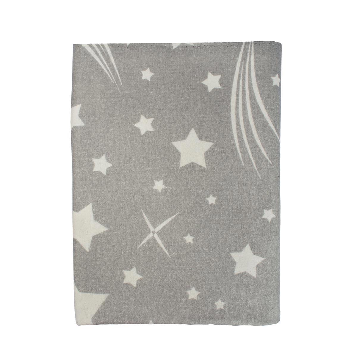 Φανελένια Σεντόνια Κούνιας (Σετ) Dimcol Star 38 Grey