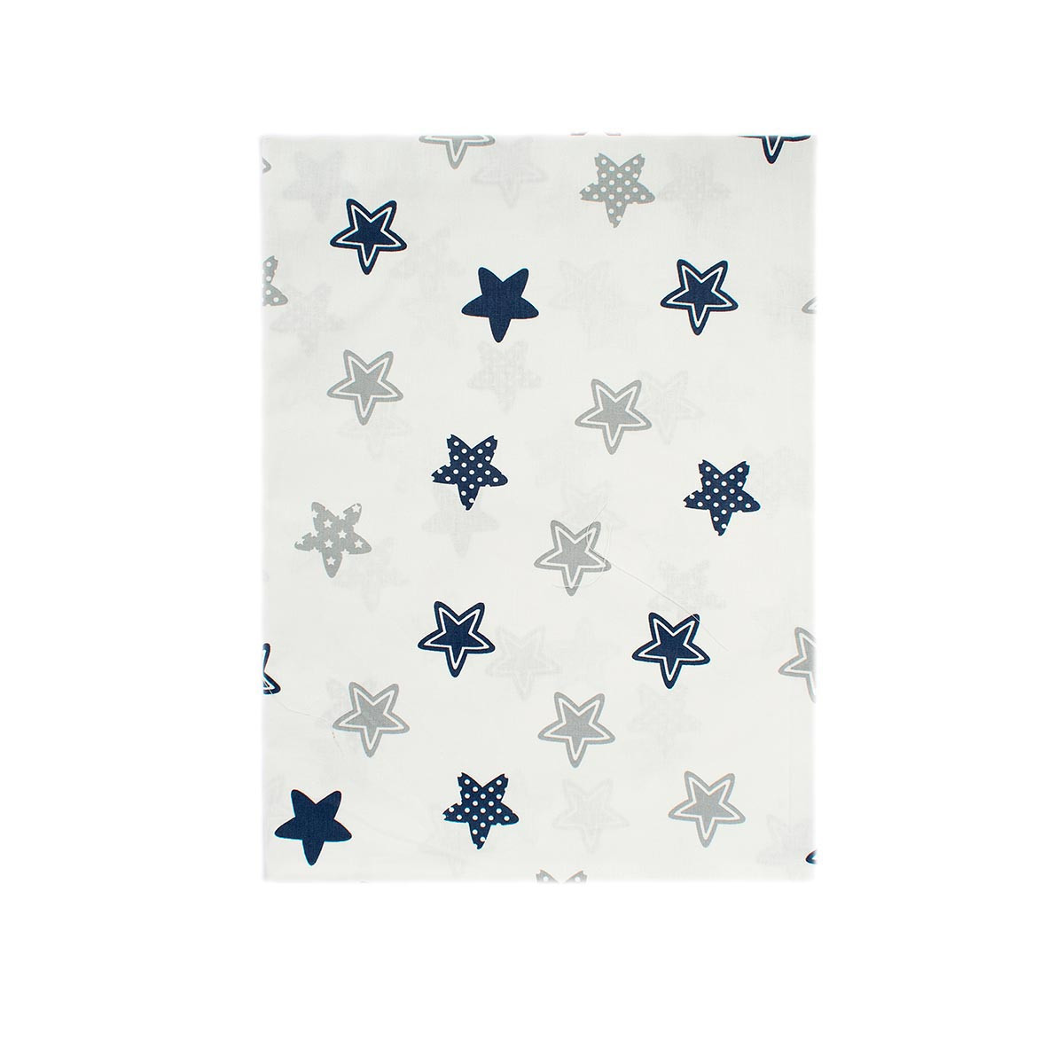 Σεντόνια Μονά (Σετ 2τμχ) Dimcol Star 102 Blue