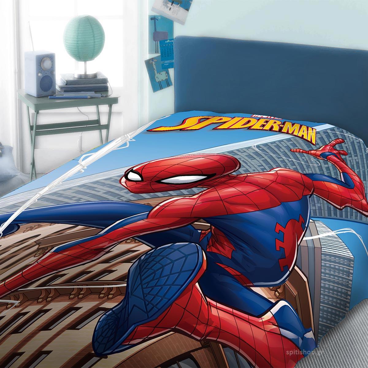 Πάπλωμα Μονό Dimcol Spiderman 911