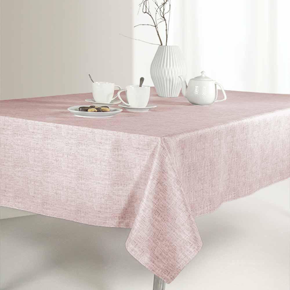 Αλέκιαστο Τραπεζομάντηλο (145×220) Saint Clair 1020 Old Pink