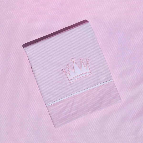 Σεντόνια Λίκνου (Σετ) Morven Cute 1901 Pink