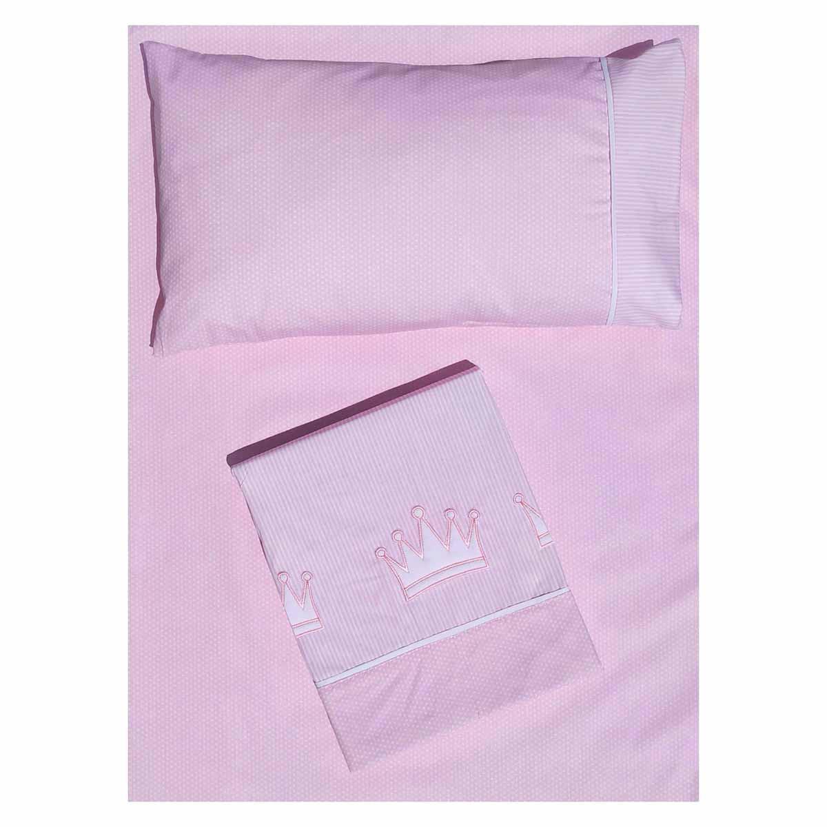 Σεντόνια Μονά (Σετ) Morven Cute 1901 Pink