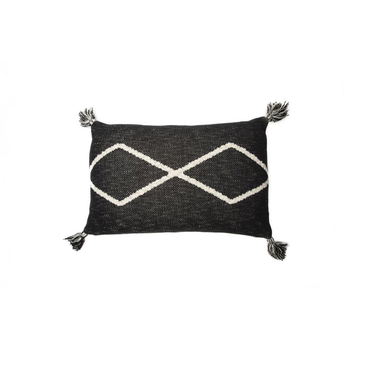 Διακοσμητικό Μαξιλάρι (30×48) Lorena Canals Little Oasis Black