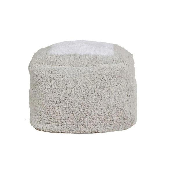 Πουφ Lorena Canals Marshmallow Pearl Grey
