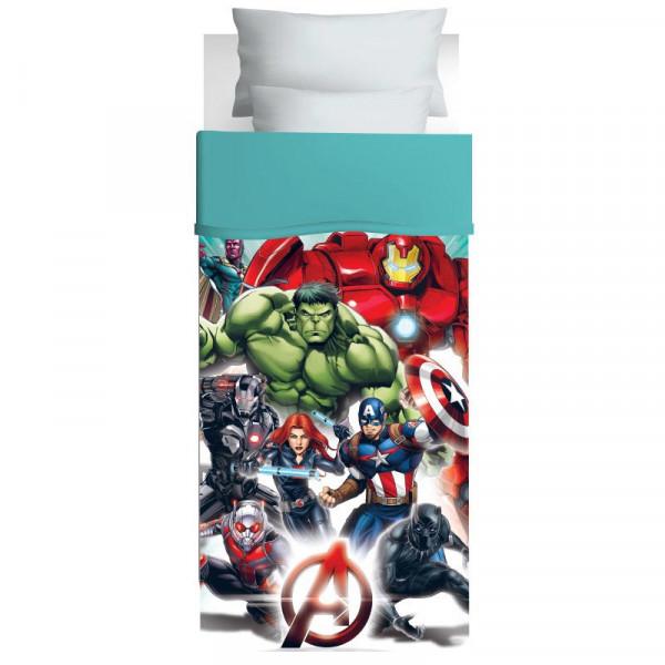 Πάπλωμα Μονό Das Home Avengers 5024