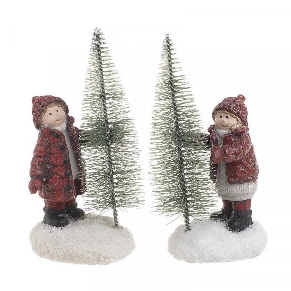 Χριστουγεννιάτικα Διακοσμητικά (Σετ 2τμχ) InArt 2-70-044-0008