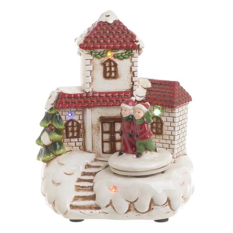 Χριστουγεννιάτικο Διακοσμητικό Με Μουσική & Φως InArt 2-70-079-0003