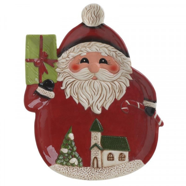 Χριστουγεννιάτικη Πιατέλα InArt 2-60-079-0001