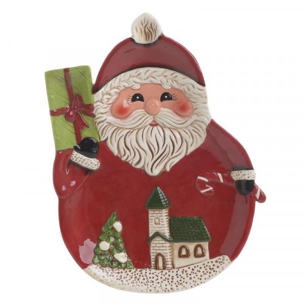 Χριστουγεννιάτικη Πιατέλα InArt 2-60-079-0002