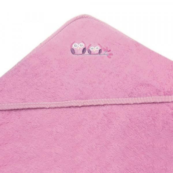 Βρεφική Κάπα Morven Owl Pink