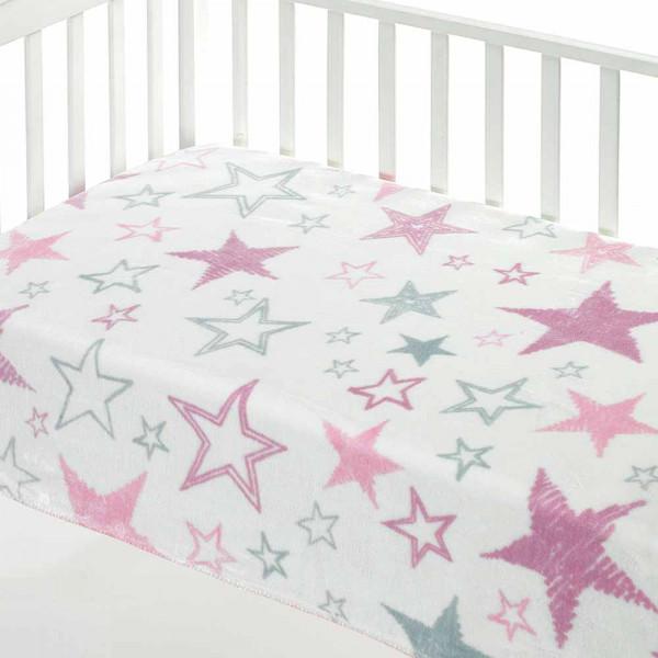 Κουβέρτα Βελουτέ Αγκαλιάς Morven Mora Color E20 Ροζ
