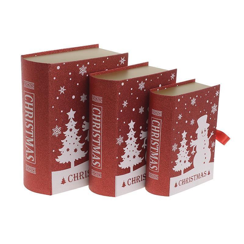 Χριστουγεννιάτικα Κουτιά (Σετ 3τμχ) InArt 2-70-926-0014