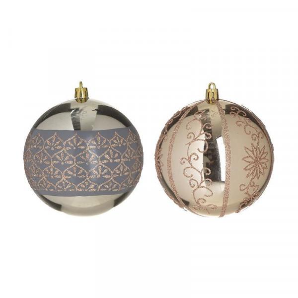 Χριστουγεννιάτικα Στολίδια (Σετ 6τμχ) InArt 2-70-951-0043