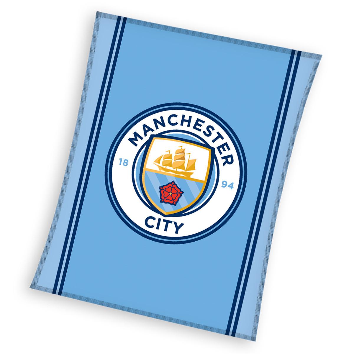Κουβέρτα Καναπέ Manchester City MCFC161001