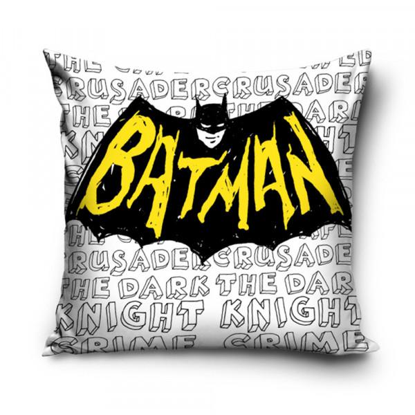 Διακοσμητική Μαξιλαροθήκη (40x40) Batman BAT161003