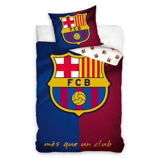 Παπλωματοθήκη Μονή (Σετ) FC Barcelona FCB6001
