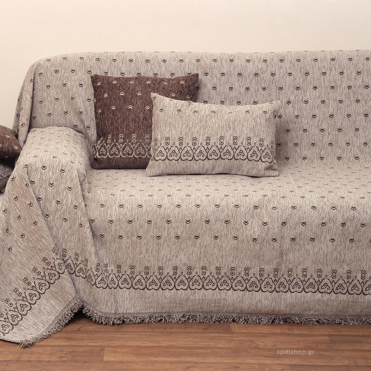 Διακοσμητικό Μαξιλάρι (55×55) Anna Riska 1457 Linen