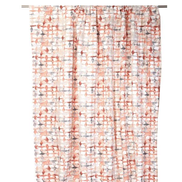 Κουρτίνα (280x270) Με Τρέσα Anna Riska Rubik Blush Pink