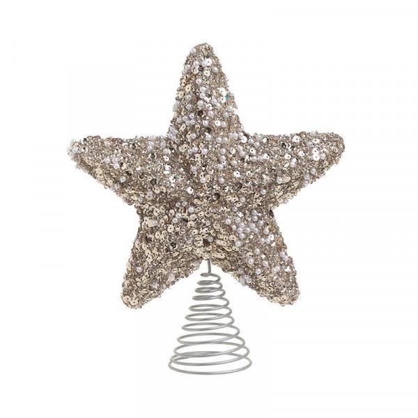 Χριστουγεννιάτικη Κορυφή Δέντρου InArt 2-70-675-0502