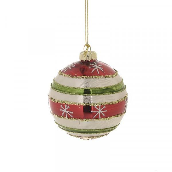 Χριστουγεννιάτικα Στολίδια (Σετ 4τμχ) InArt 2-70-890-0100