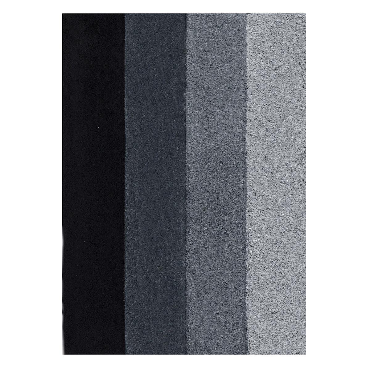 Πατάκι Μπάνιου (70×120) Rainbow 05779.002 Four Grey/Black