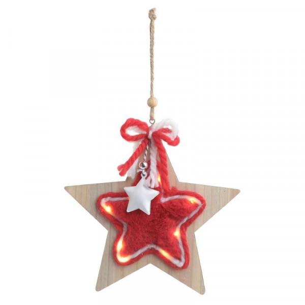Χριστουγεννιάτικο Διακοσμητικό Mε Φως InArt 2-70-428-0033