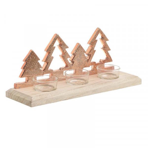 Χριστουγεννιάτικο Κηροπήγιο InArt 2-70-093-0021