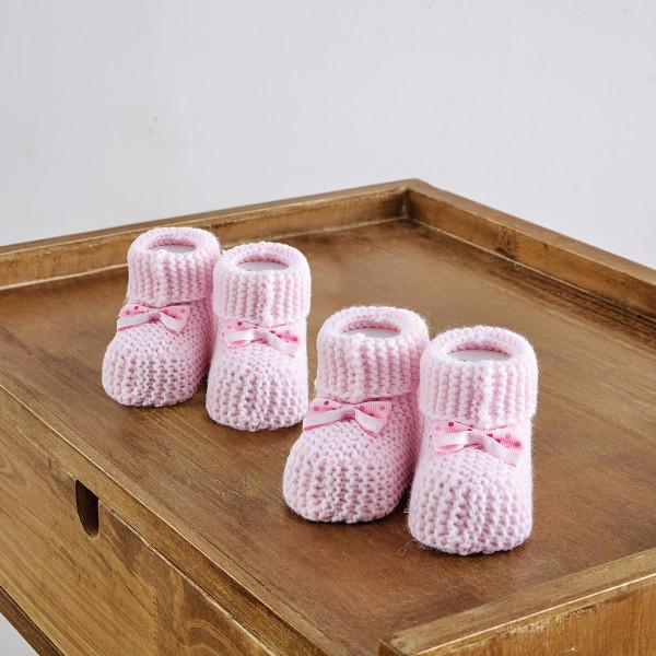 Βρεφικά Καλτσάκια (Σετ 2 Ζεύγη) Sb Home Shoes No3