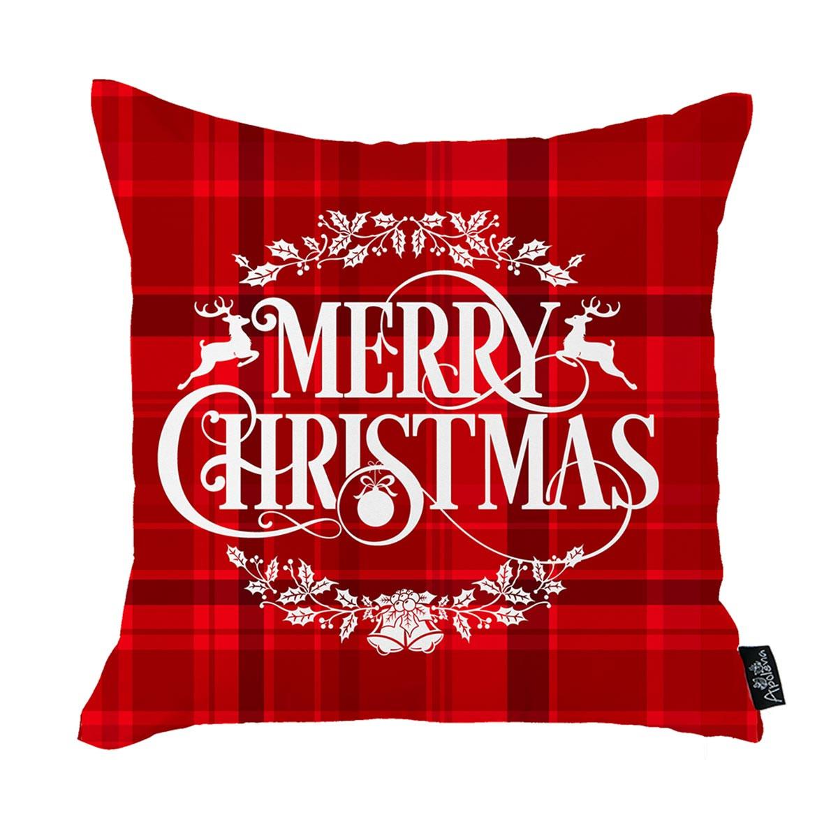 Χριστουγεννιάτικη Μαξιλαροθήκη (45×45) Apolena 712-5234/1