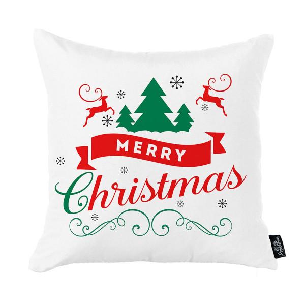 Χριστουγεννιάτικη Μαξιλαροθήκη (45x45) Apolena 712-5230/1