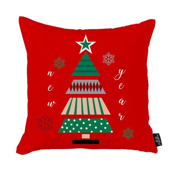 Χριστουγεννιάτικη Μαξιλαροθήκη (45x45) Apolena 712-5226/1