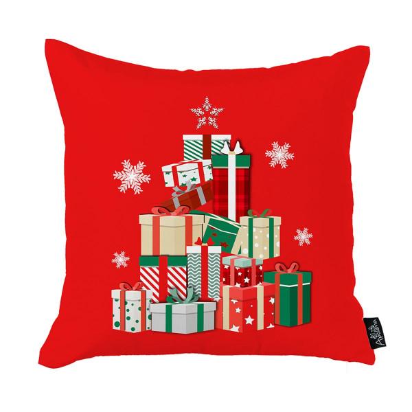 Χριστουγεννιάτικη Μαξιλαροθήκη (45x45) Apolena 712-5224/1