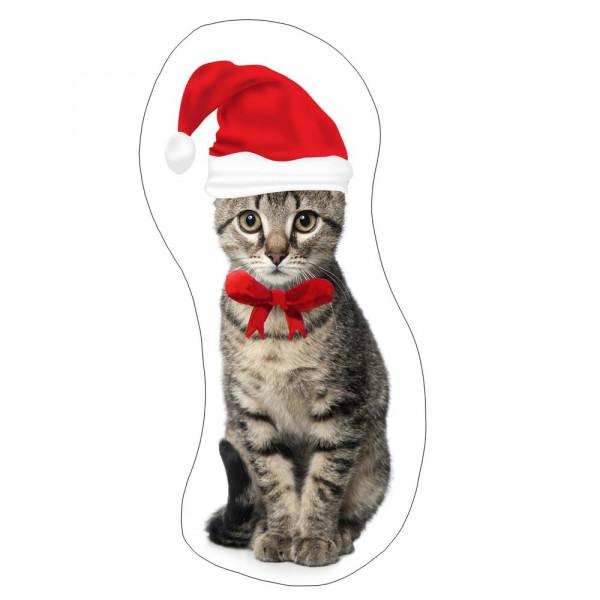 Χριστουγεννιάτικο Μαξιλάρι Apolena Γατούλα 730-4662/1