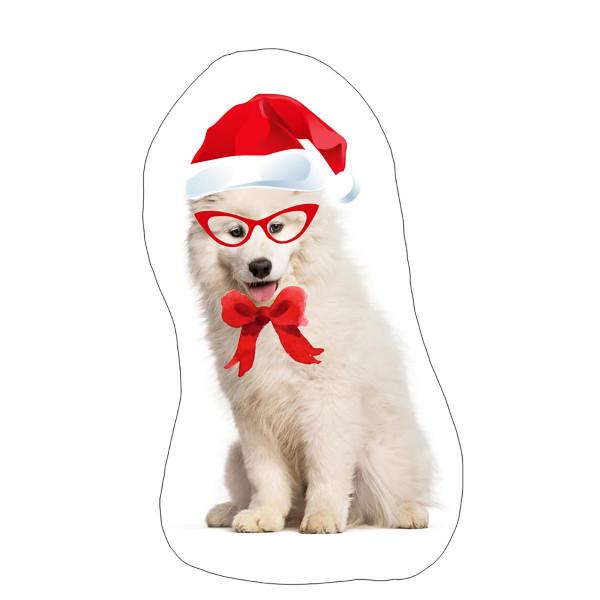 Χριστουγεννιάτικο Μαξιλάρι Apolena Σκυλάκι 730-4666/1